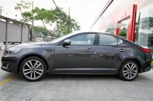 Bán Kia Optima K5, Xe bán tại TIỀN GIANG, màu đen, xe nhập khẩu
