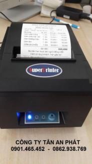 Máy in hóa đơn tính tiền cho quán cafe tại hà đông hà nội