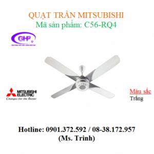 Quạt trần Mitsubishi C56-RQ4 loại 4 cánh quạt
