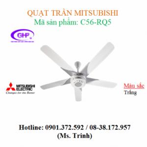 Quạt trần Mitsubishi C56-RQ5 thiết kế sang trọng