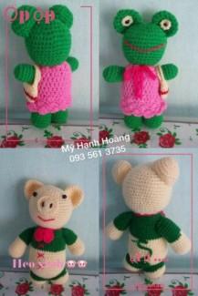Thú bông handmade