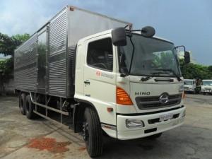 Bán xe tải Hino 16 tấn thùng kín thùng Mui bạt giá rẻ Giao Xe Toàn Quốc