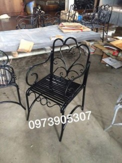 Bàn ghế sắt mỹ thuật hà nội