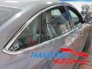 Nẹp inox viền khung kính cho Focus sedan 2012...