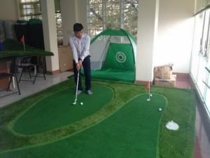 Phòng tập golf tại nhà, mini golf tại nhà