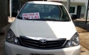 Cho thuê Innova tự lái có tài có xe giá tốt