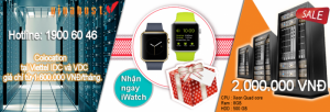 Vinahost Khuyến Mãi Iwatch Apple