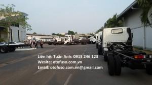 Xe tải Fuso Canter 4.7 - 1.7t - Tặng thùng và thuế trước bạ