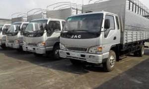Xe tải jac 6 tấn 4 , jac hfc1083k1 6t4 , mua xe jac 6t4 nhận ưu đãi lớn trong tháng 5