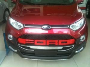 Ford Ecosport đỏ sang trọng