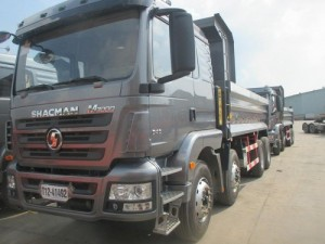 Xe ben Shacman 4 chân máy 340hp tải cho phép...