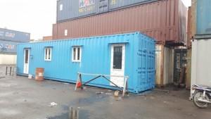 Container 40 feet văn phòng giá 70.000.000 ốp nhựa Đài Loan