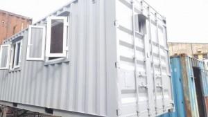Cho thuê container làm văn phòng, kho, vận chuyển