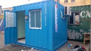 Bán và cho thuê container 10 feet làm phòng bảo vệ