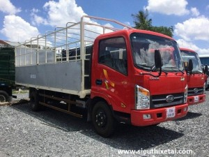 Xe Tải Veam VT260 1T9 thùng dài 6m2, Veam...