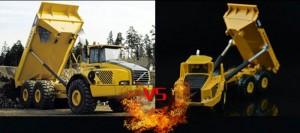 Mô hình xe ben - Kaidiwei 620007 Dump Truck