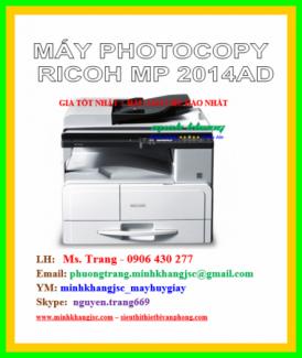 Máy photocopy Ricoh MP 2014AD đa năng giá tốt nhất