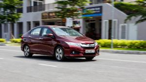 Honda city 1.5CVT Khuyến mãi lớn tại Quảng Bình
