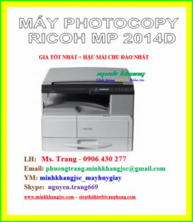 Máy photocopy Ricoh MP 2014D giá tốt nhất