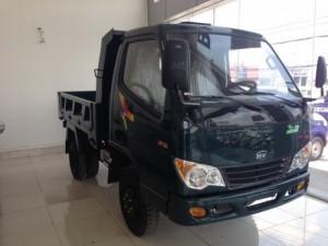 Xe tải ben veam vb100 1 tấn , ben tự động đổ vb100 máy Hyundai