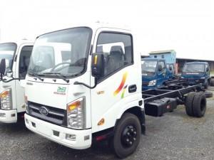 Xe tải veam vt200-1 , veam 2 tấn  máy hyundai , veam vt200-1 thùng dài 4m4