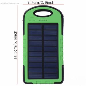Pin sạc dự phòng năng lượng mặt trời LED chống nước