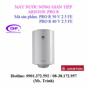 Máy nước nóng gián tiếp Ariston PRO R 80 V 2.5 FE