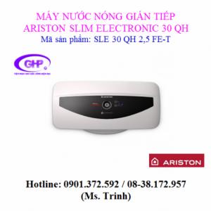 Máy nước nóng gián tiếp Ariston SLE 30 QH 2,5 FE-T
