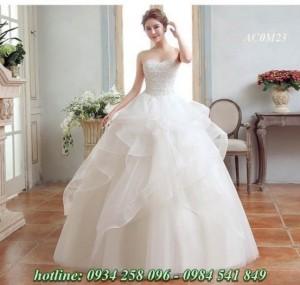 Mẫu áo cưới màu trắng đẹp nhất 2016