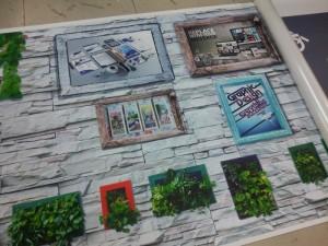 In tranh khổ lớn trang trí không gian nhà ở đẹp từ in pp
