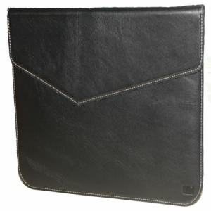 Bao da cao cấp handmade cho Macbook 12 inch Đen Thương hiệu KAT MỚI.