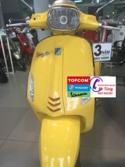 Bán xe Vespa Sprint màu vàng tại Đồng Nai