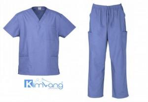 Đồng phục bệnh viện Kim Vàng
