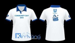 May đồng phục áo thun - Công ty May Kim Vàng