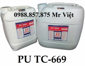 Pu xử lý rò rỉ nước 668, keo pu chống thấm ngược 668 pu 669 UF 3000