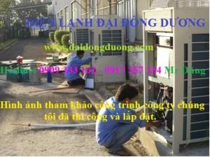 Thi công lắp đặt máy lạnh tủ đứng daikin fvgr10nv1 với công suất 10hp chỉ dành riêng cho công nghiệp