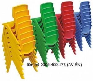 ghế nhựa mầm non nhập khẩu