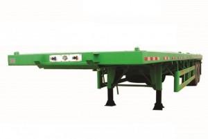 Sơ mi rơ mooc sàn ( chở container) 40 feet, 3 trục Giao Xe Toàn Quốc Trả Góp