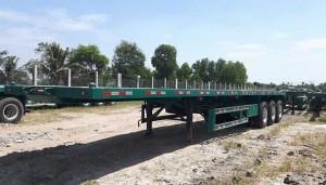 Sơ mi rơ mooc sàn ( chở container) 40 feet, 3 trục Giao Xe Toàn Quốc