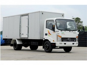 Hyundai 2 tấn thùng dài 6,1m vào thành phố