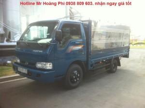 Xe tải 2t4, K165s, giá tốt Tây Ninh, Long An.