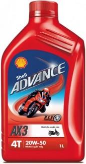 Nhớt Shell Advance AX3 20W-50 0.8L