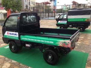 Bán xe tải suzuki 5 tạ màu xanh,đời 2016