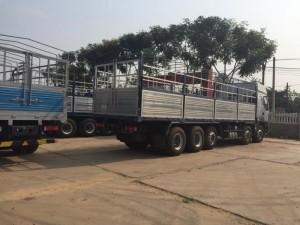 ChengLong Hải Âu, xe tải 5 chân Chenglong không chỉ kế thừa toàn bộ các ưu điểm nổi bật của các dòng xe tiền nhiệm, mà còn được tích hợp, nâng cao một số tính năng, nhằm đáp ứng một cách hoàn hảo mọi nhu cầu về xe tải của người sử dụng.  Cụ thể, xe tải 5 chân ChengLong  sử dụng động cơ YuChai đạt công suất cực đại 340 mã lực, rất mạnh mẽ, bền bỉ; động cơ tiêu chuẩn khí thải EURO III tiết kiệm nhiên liệu (28-30L ở điều kiện xe có tải); hộp số FULLER- Mỹ có trợ lực và hệ thống đồng tốc, số cực nhẹ và dễ vào giúp tài xế thoải mái hơn trong quá trình lái