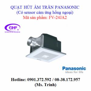 Quạt hút âm trần có sensor cảm ứng hồng ngoại Panasonic FV-24JA2