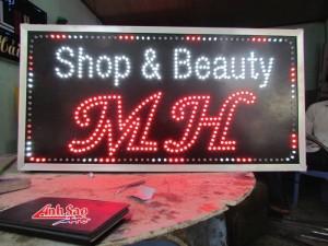 Báo giá làm hộp đèn quảng cáo led giá rẻ