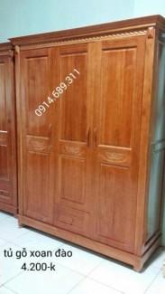 Tủ áo gỗ xoan đào