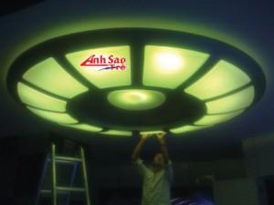 Thi công đèn led trang trí tòa nhà