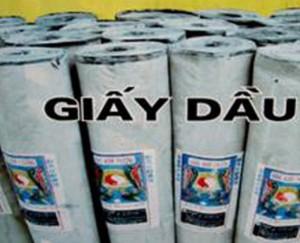 Bán giấy dầu chống thấm giá cạnh tranh