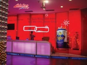 Sản xuất booth quảng cáo tại TPHCM